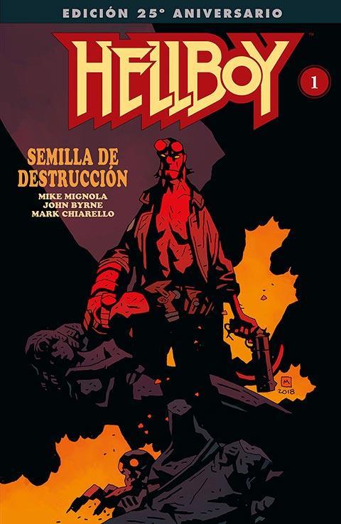 Hellboy Semilla de Destrucción Edición gigante de Norma Editorial