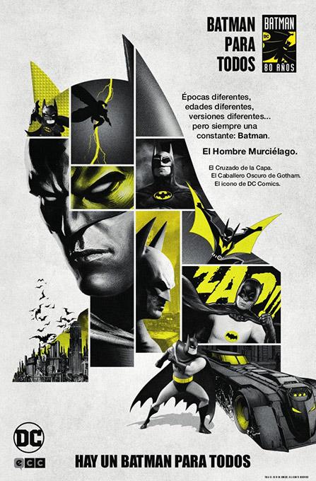 Batman day 2019 con MilCómics y ECC Ediciones