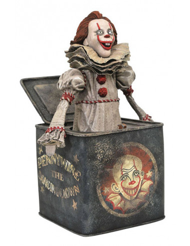 es::It: Chapter Two Gallery Diorama Pennywise in Box 23 cm