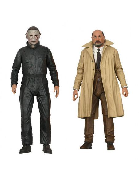 es::Halloween II Pack de 2 Figuras Ultimate Michael Myers & Dr Loomis 18 cm
