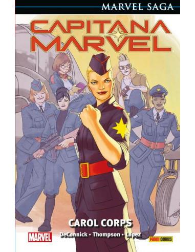 es::Marvel Saga. Capitana Marvel 06. Carol Corps