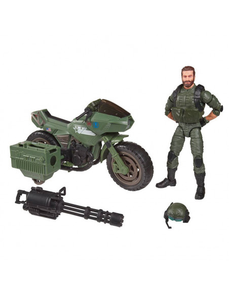 es::G.I. Joe Classified Figura Alvin Breaker kinney with Ram cycle 15 cm-3
