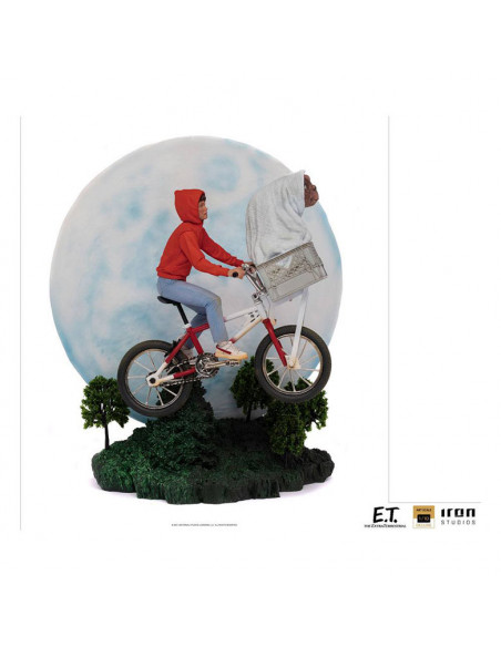 es::E.T. El Extraterrestre Estatua 1/10 Deluxe Art Scale E.T. & Elliot 27 cm