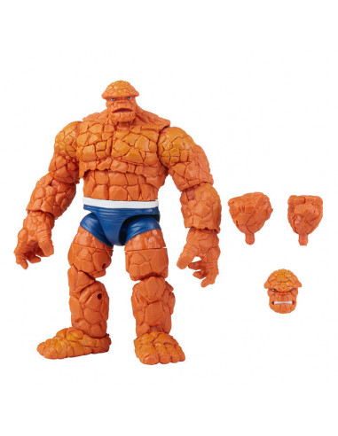 es::Marvel Legends Fantastic Four Retro Collection The Thing 15 cm-0