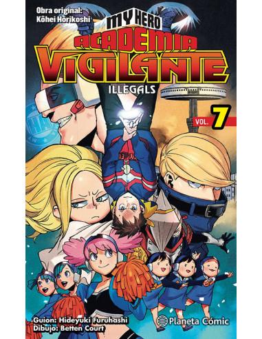 es::My Hero Academia Vigilante Illegals 07