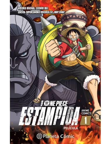 es::One Piece Estampida Anime Cómic nº 01