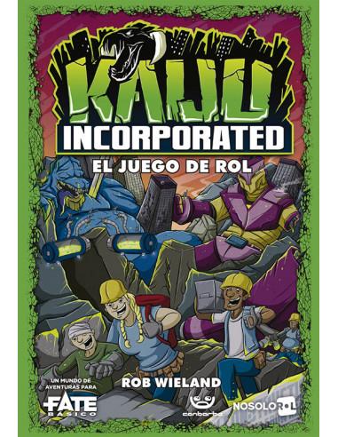 es::Mundos Fate: Kaiju Incorporated - Juego de rol