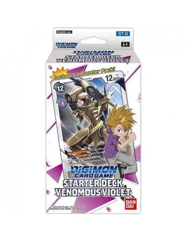 es::Digimon Card Game Venomous Violet Starter Deck 6