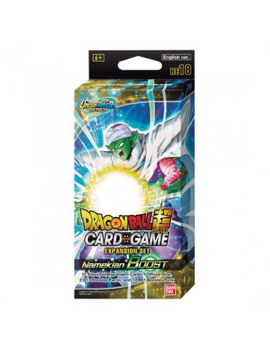 es::Dragon Ball Super Card Game Expansion Set BE18 Namekian Boost