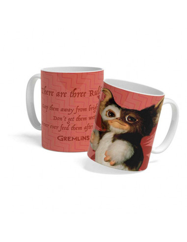 es::Gremlins - Taza There Are Three Rules-0