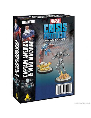 es::Marvel Crisis Protocol: Captain America & War Machine-0