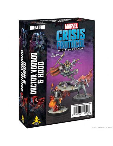 es::Marvel Crisis Protocol: Doctor Voodoo & Hood EN Inglés-0