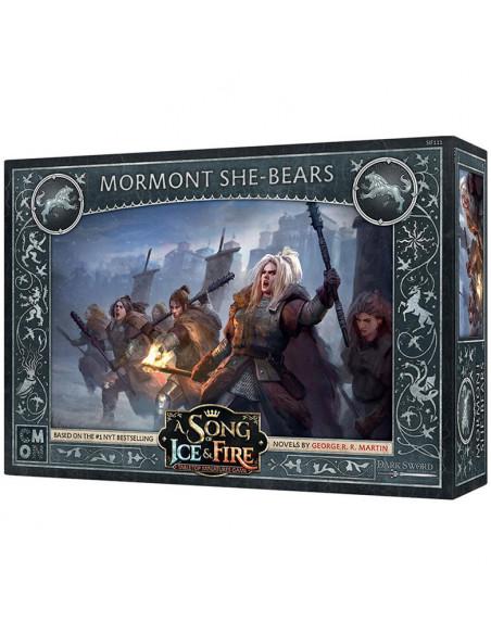 es::Canción de hielo y fuego. El juego de miniaturas - Osas Mormont -0