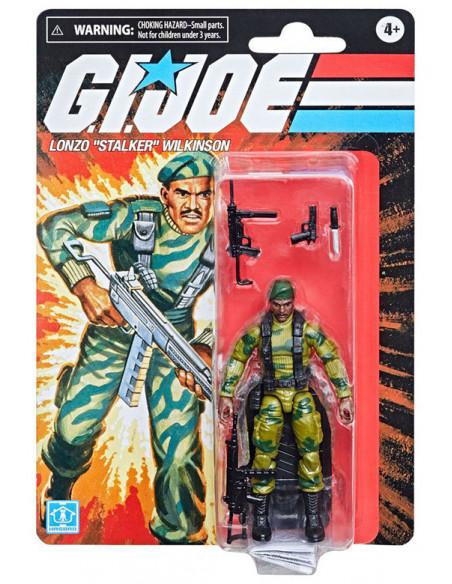 """es::G.I. Joe Retro Series Figura Lonzo """"Stalker"""" Wilson 10 cm"""
