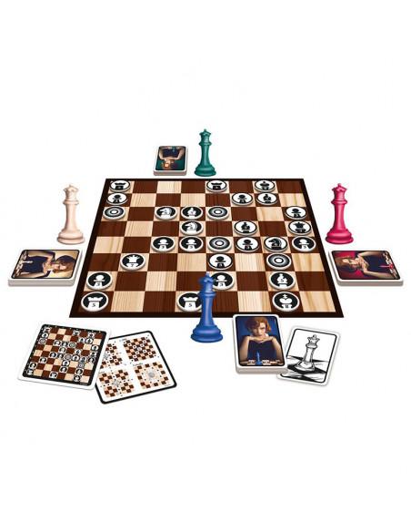 es::Gambito de Dama el juego de tablero -1