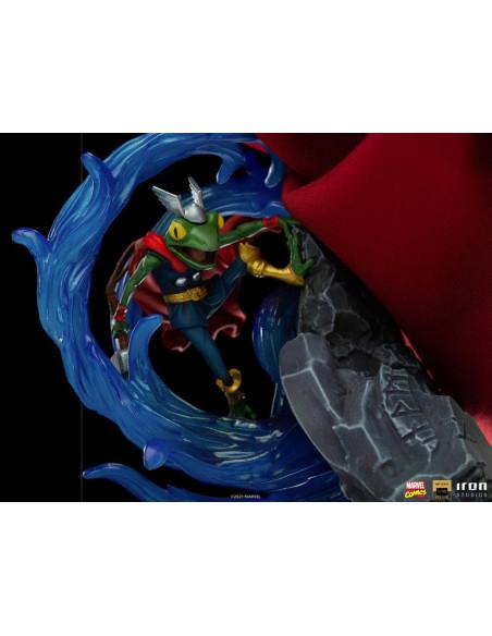 es::Marvel Comics Estatua 1/10 BDS Deluxe Art Scale Thor Unleashed 28 cm