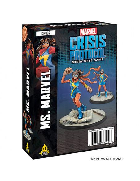 es::Marvel Crisis Protocol: Ms. Marvel EN Inglés-0