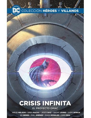 es::Colección Héroes y villanos vol. 12 - Crisis infinita: El proyecto OMAC