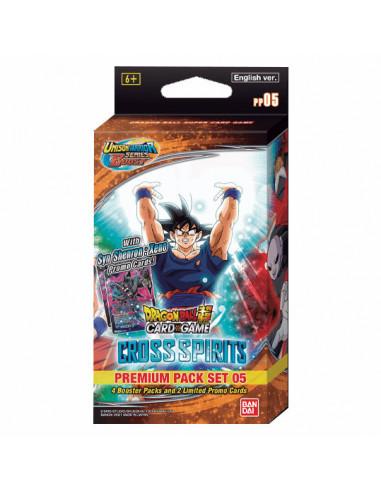 es::Dragon Ball Super Card Game Cross Spirits Premium Pack Set 05