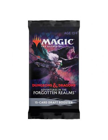 es::Magic Adventures in the Forgotten Realms 1 sobre de Draft en inglés