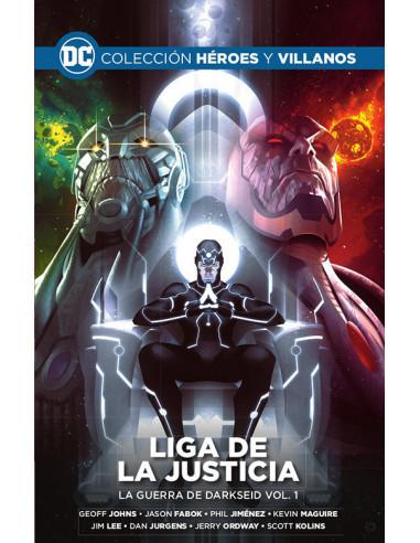 es::Colección Héroes y villanos vol. 14 -  Liga de la Justicia: La guerra de Darkseid vol. 1