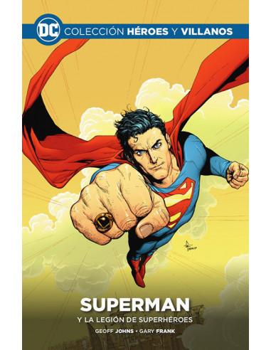 es::Colección Héroes y villanos vol. 20 - Superman y la Legión de Superhéroes