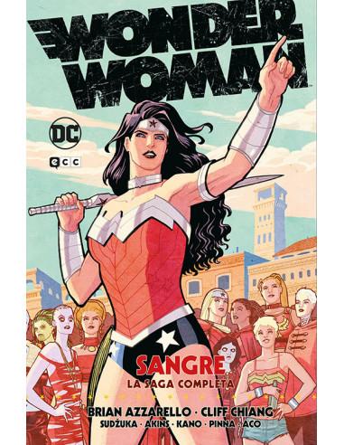 es::Wonder Woman: Sangre La saga completa