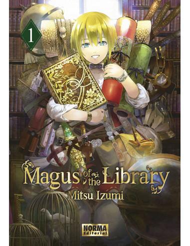 es::Magus of the Library 01 Edición con postal