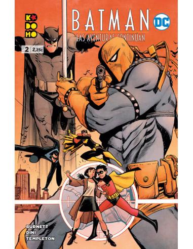 es::Batman: Las aventuras continúan 02 de 8
