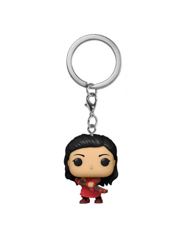 es::Shang-Chi and the Legend of the Ten Rings Llavero Pocket POP! Katy 4 cm