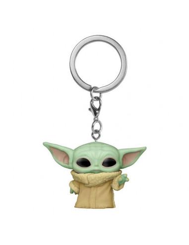 es::Star Wars The Mandalorian Llavero Pocket POP! The Child 4 cm