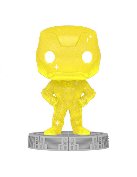 es::Infinity Saga Funko POP! Artist Series Vinyl Iron Man Yellow 9 cm
