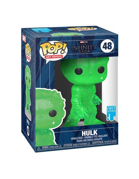 es::Infinity Saga Funko POP! Artist Series Vinyl Hulk Green 9 cm