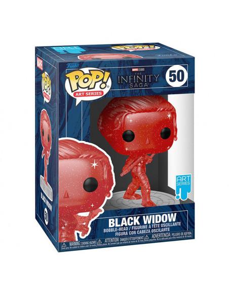 es::Infinity Saga Funko POP! Artist Series Vinyl Black Widow Red 9 cm