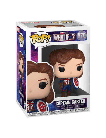 es::What If...? Funko POP! Captain Carter 9 cm
