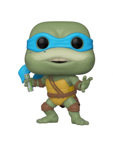es::Tortugas Ninja POP! Movies Vinyl Figura Leonardo 9 cm