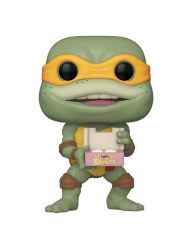 es::Tortugas Ninja POP! Movies Vinyl Figura Michaelangelo 9 cm
