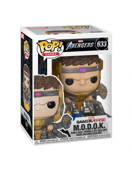 es::Marvel's Avengers 2020 video gameFunko POP! Figura MODOK 9 cm