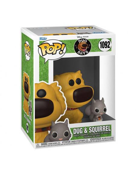 es::Dug Days Funko POP! Dug w/Squirrel 9 cm