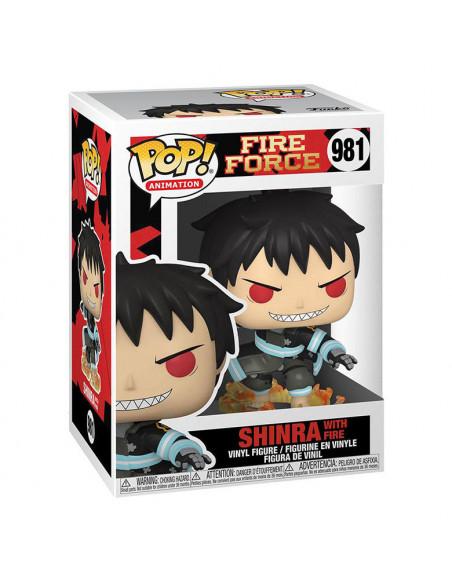 es::Fire Force Funko POP! Shinra w/Fire 9 cm