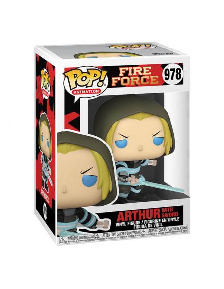 es::Fire Force Funko POP! Arthur w/Sword 9 cm