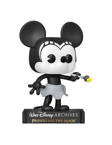 es::Disney Funko POP! Minnie Mouse - Plane Crazy Minnie 1928 9 cm