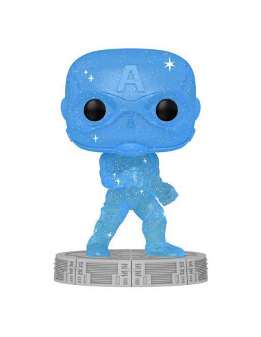 es::Infinity Saga Funko POP! Artist Series Vinyl Captain America Blue 9 cm