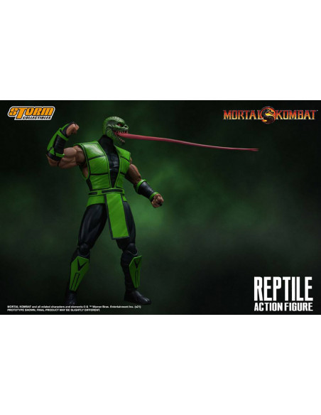 es::Mortal Kombat Figura 1/12 Reptile 18 cm-1