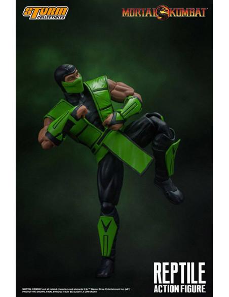 es::Mortal Kombat Figura 1/12 Reptile 18 cm-2