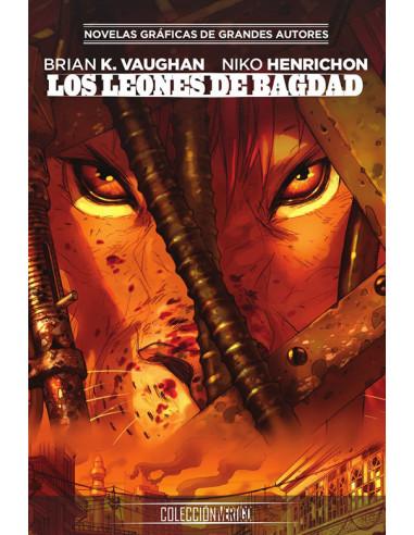 es::Colección Vertigo 75: Los leones de Bagdad