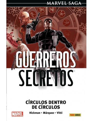 es::Marvel Saga. Guerreros Secretos 05. Círculos dentro de círculos