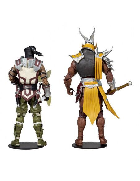 es::Mortal Kombat Pack 2 Figuras Sub-Zero & Shao Khan 18 cm
