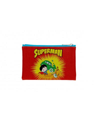 es::Universo DC Estuche rectangular Superman Portada Action Comics 1 Chibi