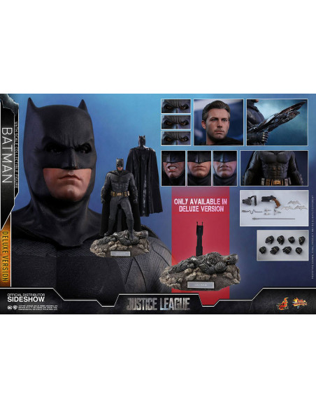 es::Justice League Figura 1/6 Batman Deluxe Hot Toys 32 cm-3